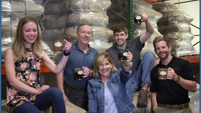 Behind the scenes look at the very popular Door County Coffee & Tea Co.