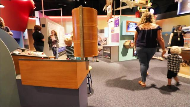 Science CITY highlights the importance of STEM through fun, interactive displays that the whole family can enjoy.