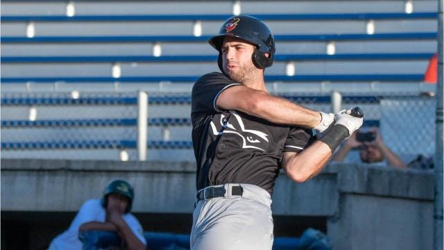 Former Kimberly standout athlete Scott Schreiber is pursuing his dream of reaching the big leagues as an outfielder/first baseman for the Quad Cities River Bandits, a Class-A affiliate of the Houston Astros