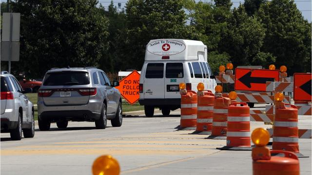 Tips for safe driving through road construction zones.