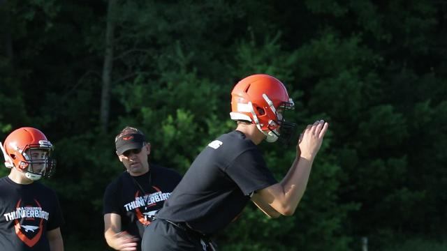 Some highlights from the morning and afternoon workouts as local programs returned to the field on Wednesday.