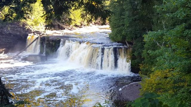 The Porcupine Mountains in Michigan's Upper Peninsula have more than 90 miles of hiking trails and 63 backcountry campsites, making it a great spot to get into the wilderness in the Midwest.
