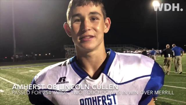 Highlights and interviews from some of the games on Friday's schedule involving local football teams
