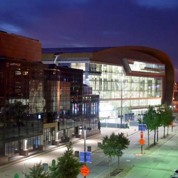 A short history of Fiserv Forum