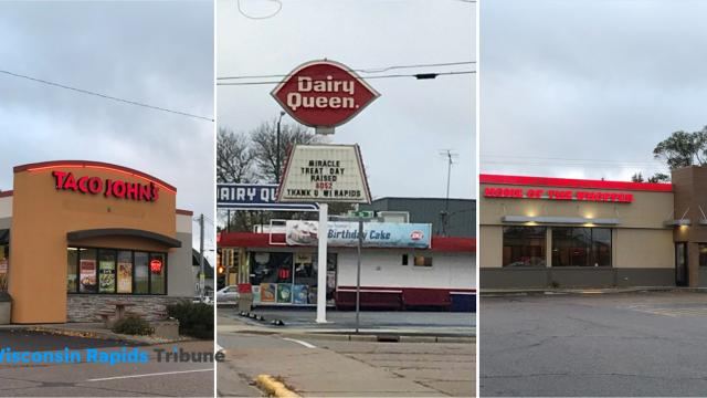 Taco Johns, Dairy Queen and Burger King will compete to raise funds Oct. 31, 2018 for the Outdoor Learning Center at Mead Elementary Charter School in Wisconsin Rapids.