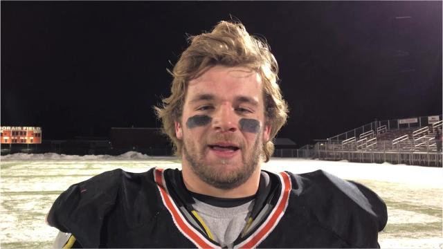 Iola-Scandinavia senior running back Bryce Huettner set the state's all-time career rushing record in the T-Birds' 27-25 win over Grantsburg in a Division 6 state semifinal matchup in Chippewa Falls on Friday night.