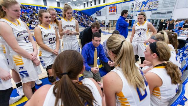The Mukwonago girls basketball team remained perfect in Classic 8 play with its win over Arrowhead on Jan. 4.
