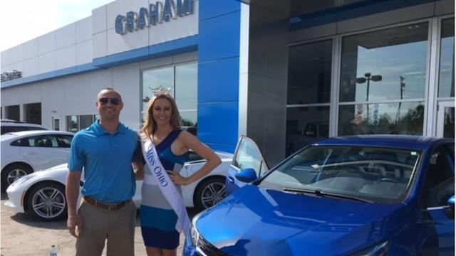 Graham Chevrolet donates 2017 Chevrolet Cruz to Miss Ohio Scholarship Program