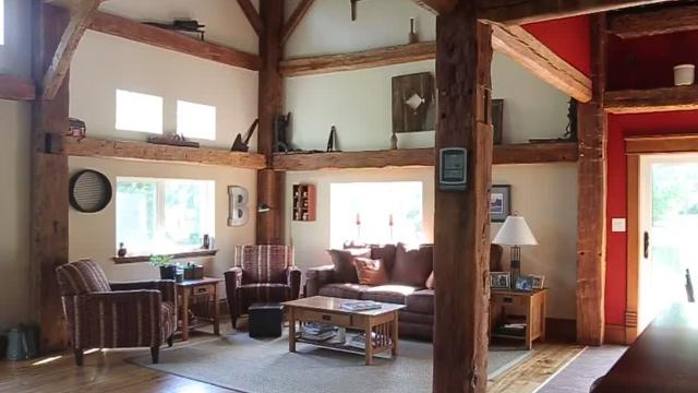896491c523e70 200-year-old barn becomes home, will be featured on cable TV show