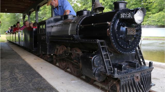 A miniature train that used to circle North Lake Park will soon be up for auction. The train was bought from the city by Bernard Bowman who took it to his Butler home in the 1960s, since then the little train has been a fixture of family get togethers. The track, locomotive and cars, along with the land it sits on will be auctioned off by Larry Moore of Fredricktown on July 29.