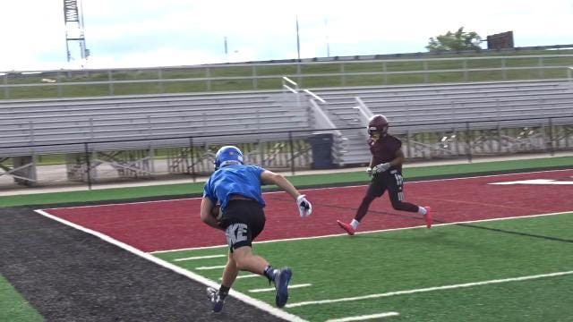 Maysville competes in 7-on-7