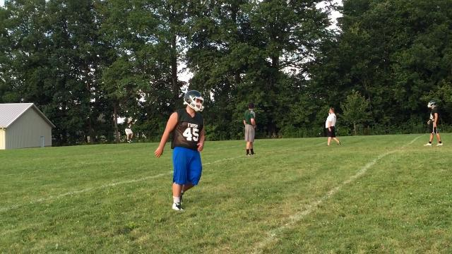 Northridge football progressing for new coach