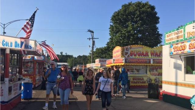 There's plenty of food at the Richland County Fair, from deep fried Oreos to pork tenderloin sandwiches and French fries.
