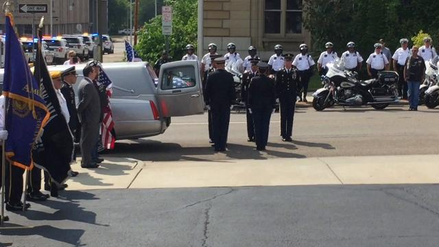 Sgt. Harold Davis returns home