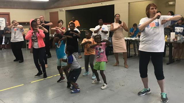 The fourth and final Safe Summer Fridays of the season was held at North Lake Park Friday. Organized by We ACT, the events bring together community organizations and agencies to provide safe and fun activities for Mansfield residents.