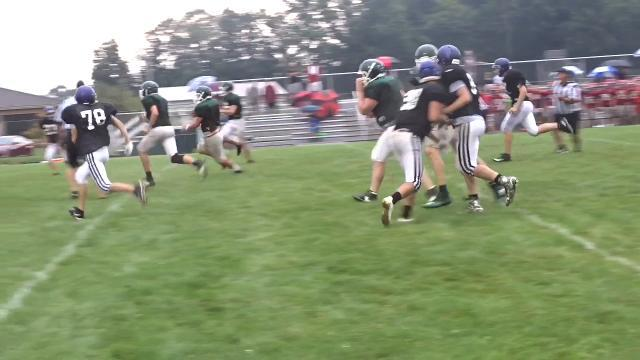 Northridge football hosts Millersport, Westfall for scrimmage