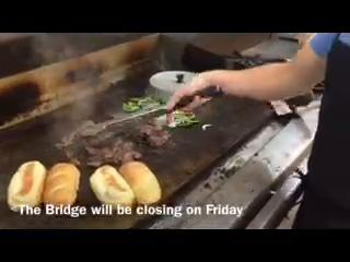 The Bridge is closing on Friday, but not before hosting a farm-to-table steak dinner.