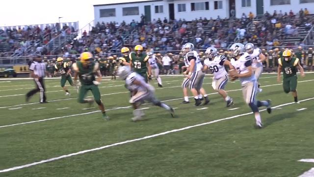 Haley runs Granville football over Hamilton Township.