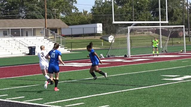 Zanesville girls soccer fights off Newark