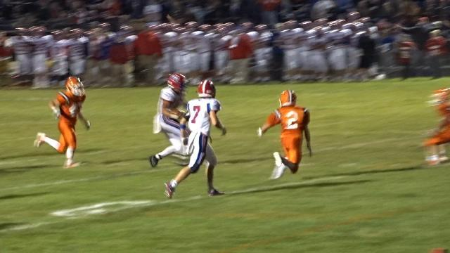Lewis scores winning TD for Licking Valley