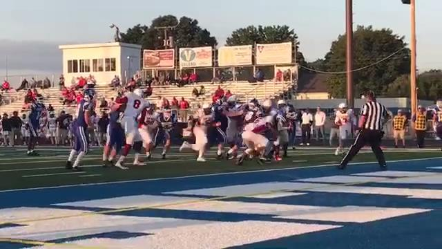 The Cavaliers suffered their first loss this season by a 40-26 final, Friday night, at the hands of Marion-Franklin. Here are sights and sounds from the Week 3 contest.