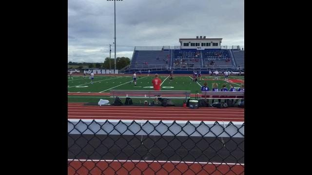 Licking Valley's Schmoll scores 100th goal