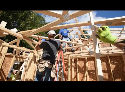 Habitat for Humanity build on mead street