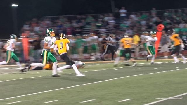 Lumbatis leading Newark Catholic's defensive charge