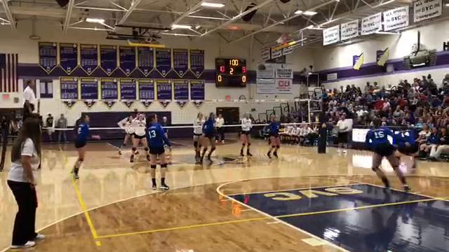 Unioto jumped in the SVC's driver's seat with a four-set win over Southeastern Tuesday night. Derrick Webb has the highlights.