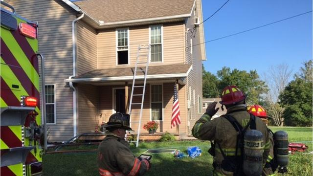 Ashland firefighters extinguished a house fire in the 1300 block of U.S. 42 Friday morning. No one was home at the time of the fire which was reported by a passerby on a cell phone.