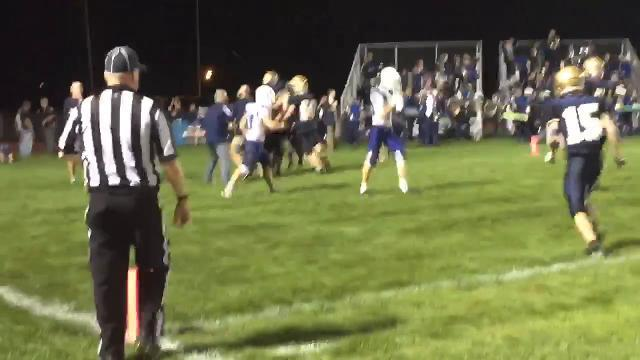 Lancaster quarterback Tyler Monk scores Game-winner