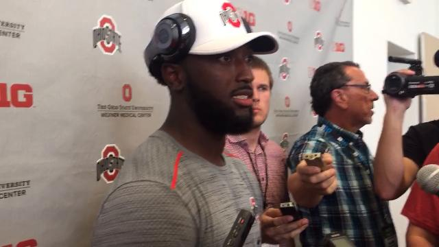 OSU receiver Parris Campbell on J.T. Barrett and a passing game that produced 7 TDs in rout of UNLV.