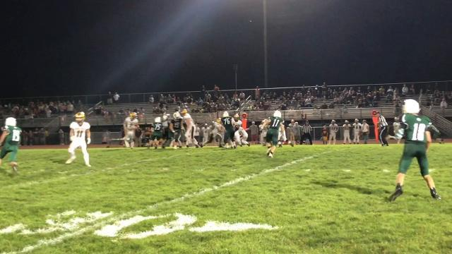 Berne Union football rallies past Fisher Catholic