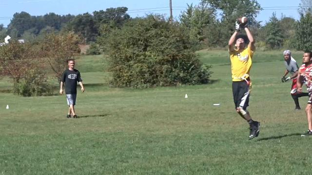 Mid-State Flag Football League action