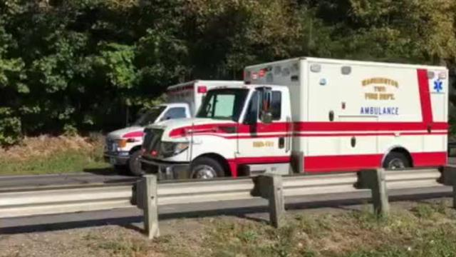 A head-on crash Wednesday morning on U.S. 42 south of Lexington seriously injured three people, according to the Mansfield post of the Highway Patrol.