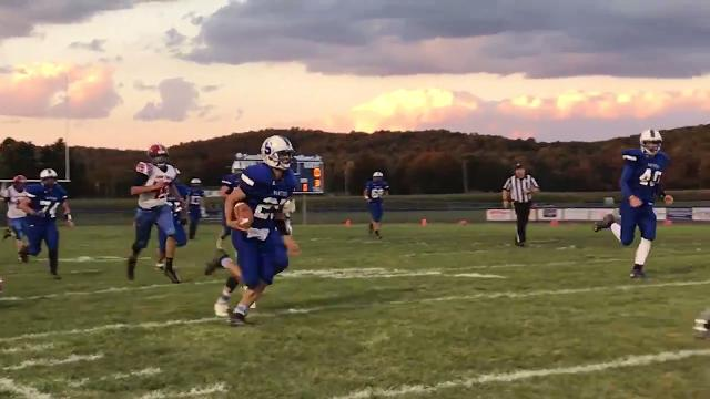Southeastern defeated Zane Trace Friday night by a 28-12 final. The win was the Panthers' first in 17 years over the Pioneers.