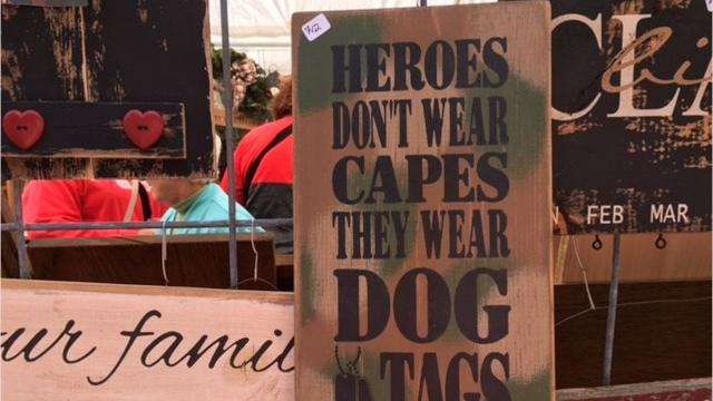 Hundreds of people flocked to the Prairie Peddler on Ohio 97 near Butler on Saturday for crafts and food and a fun time outdoors. The event continues Sunday from 10 to 5 p.m.