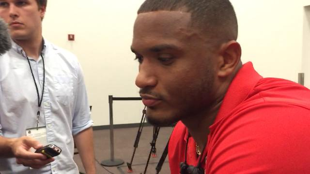 OSU linebacker Dante Booker on the way he and rest of defense have stepped up in recent weeks.