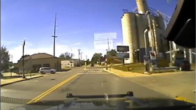 Dash cam video from an Oct. 2 crash on West Main Street in Shelby involving a Shelby police cruiser.