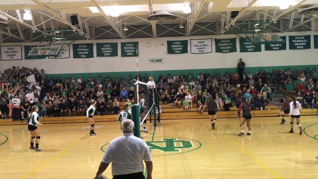 Newark Catholic volleyball earns LCL-Cardinal tie