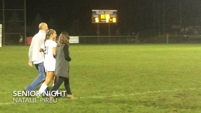 Granville beat Johnstown 6-0 on Senior Night to win the LCL girls soccer title.