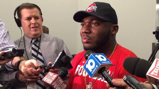 OSU defensive end Tyquan Lewis on how practice sets the tone for the Buckeyes