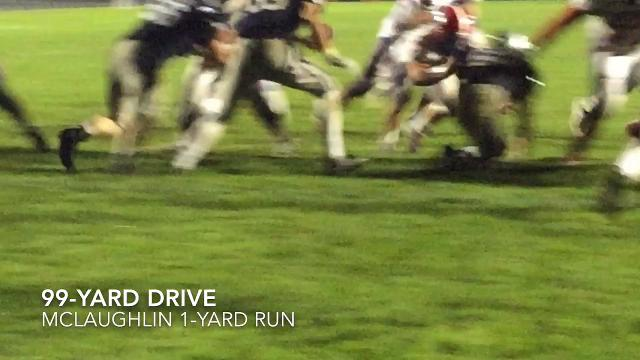 Visiting Licking Valley jumped to 9-0 with an exciting 34-27 LCL Buckeye win over Granville.