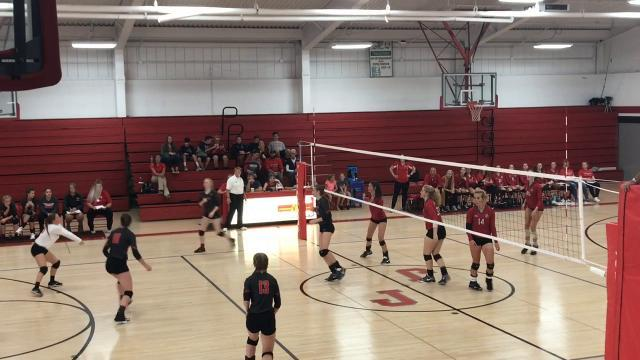 Slader leads Johnstown volleyball to tournament sweep