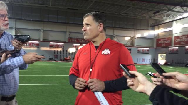 OSU defensive coordinator Greg Schiano