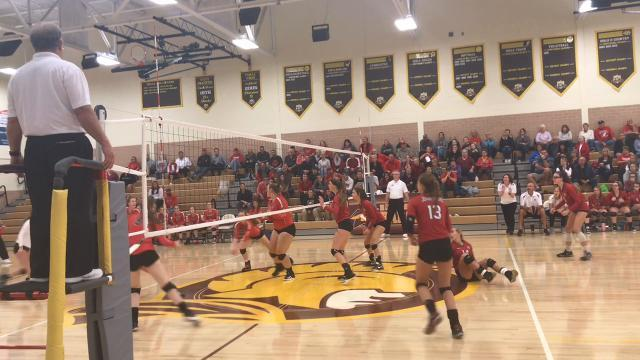 Johnstown volleyball hands Fairbanks first loss