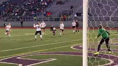 Unioto upset top-seeded Fairfield Union Thursday night by a 1-0 final. Goalkeeper Sydney Free made seven saves and Jayla Campbell scored the game's only goal.