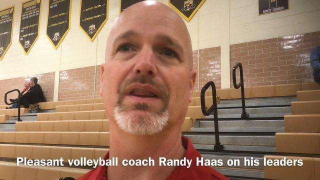 Pleasant volleyball on what it took to get to regionals