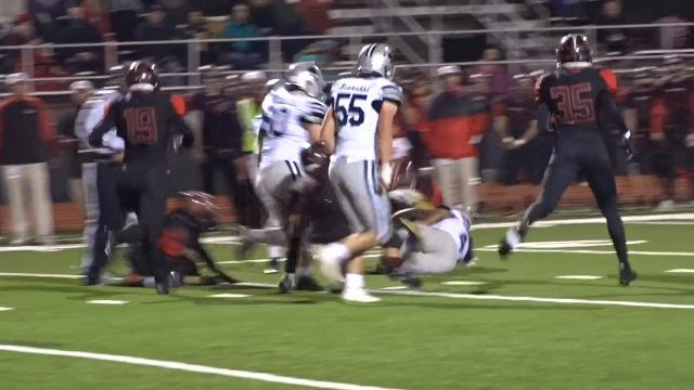 Granville unable to keep up in high-scoring playoff loss