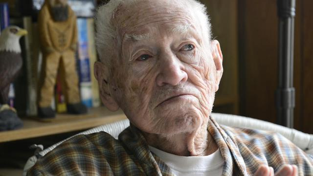 WWII veteran Mervin Rose